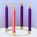 "Advent Wreath Only, 10"" diameter."
