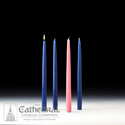 Candle-Advent Home Refills, Blue, Rose