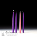 Candle-Advent Home Refills, Purple, Rose