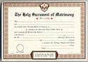 Certificate-Marriage