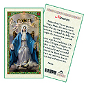 Holy Card-Lady Of Grace, Memorare