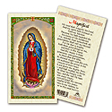 Holy Card-Lady Of Guadalupe