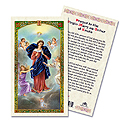 Holy Card-Lady Untier Of Knots