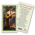 Holy Card-St Francis Of Assisi