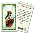 Holy Card-St Teresa Of Avila