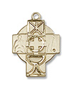 Medal-Four Sacraments-Baptism/Reconciliation/First