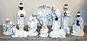 "Nativity Set- 10"", 10 Piece"