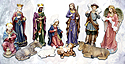 "Nativity Set- 36"", 11 Piece"