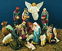 "Nativity Set-36"", Color"