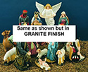 "Nativity Set-36"", Granite"