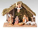 "Nativity Set-  5"", 7 Piece"