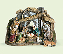 "Nativity Set-  6"", 10 Pieces"