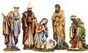 "Nativity Set-  8"", 5 Piece"