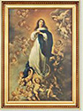 "Picture-Immaculate Conception 16"" X 27"