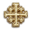 Pin-Cross, Jerusalem