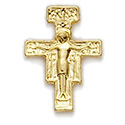 Pin-Cross, San Damiano