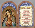 Plaque-Lady Of Guadalupe Diptych