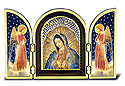 Plaque-Lady Of Guadalupe Triptych