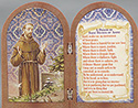 Plaque-St Francis Diptych