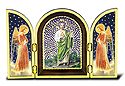 Plaque-St Jude Triptych