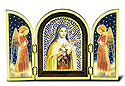 Plaque-St Therese Triptych