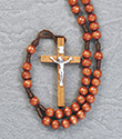 Rosary-Brown