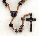 Rosary-Brown, St Benedict