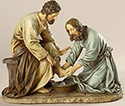 Statue-Jesus Washing Feet- 6