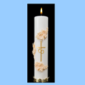 Wedding Candle-Matrimony, Gold